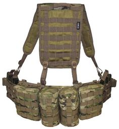 The Lead Scout Long Range Patrols belt in All Terrain pattern (ATP) has internal moulded comfort neoprene padding that adds extreme comfort when wearing for long periods at a time. The belt is 3 molle loops wide for maximum load carriage enhancement for pouches. Camouflage is unique design that can be worn with Multicam or MTP camouflage. Belt includes pouches and Jungle harness as shown on Photos.