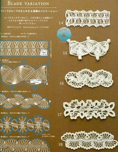 hairpin lace patterns and instructions - Yahoo Image Search Results Hairpin Lace Patterns, Hairpin Lace Crochet, Crochet Motifs, Crochet Flower Patterns, Crochet Stitches Patterns, Crochet Chart, Crochet Designs, Crochet Flowers, Broomstick Lace