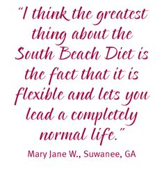 The South Beach Diet Online - How It Works