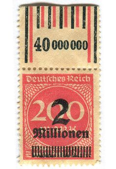 Postage stamp 1930s Germany
