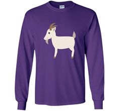 Goat Emoji T-Shirt Farm Animal Horns Tusks Pig Sheep Cow cool shirt