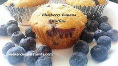 Banana blueberry muffins!!!