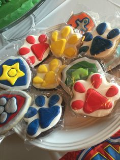 Cookies from Courtney's confections of Oklahoma. #paw #patrol #cookies @courtneysconfectionsok