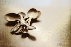 antique silverware Marie Grady Palcic