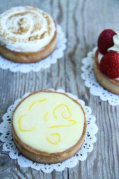 Gourmet Baking: Lemon Frenzy: Cheese Cake Citronné (two ways) and Assorted Lemon Tarts