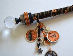 Make your own Magical Wand for a Halloween Witch or prop ~ Easy to follow instructions