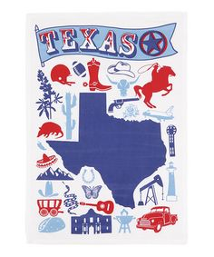 Another great find on #zulily! 'Texas' Dish Towel - Set of Two #zulilyfinds