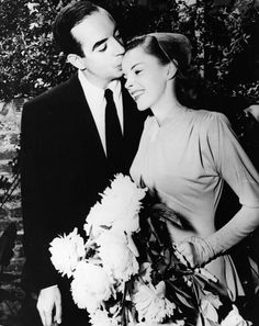 Judy Garland's wedding to Vincent Minnelli in 1945....................