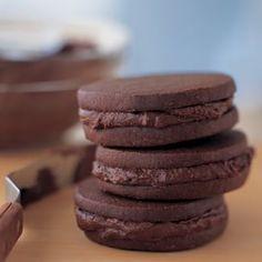 Mocha Sandwich Cookies   Williams-Sonoma