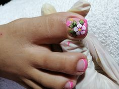 Best Acrylic Nails, Manicure And Pedicure, Toe Nails, Nail Art, Pretty Pedicures, Nail Hacks, Vestidos, Pretty Toe Nails, Simple Toe Nails