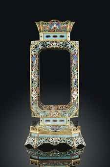 A CLOISONNÉ ENAMEL LANTERN AND STAND  18TH CENTURYhttp://www.christies.com/