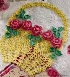 Doilies florais vintage (3) (638x700, 310KB)