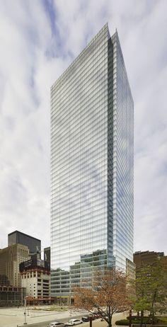 Bay Adelaide Centre, Toronto, Canada I designed by WZMH Architects