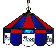 New York Giants Pub/Bar Stained Glass Lamp/Light