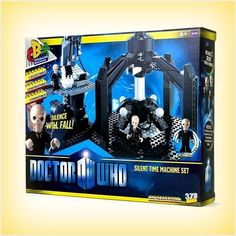 Dr Doctor Who Character Building silent time machine set with micro figures New 5029736043001 on eBid United Kingdom