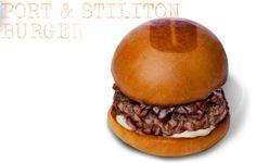 Port Burger from Umami Burger - muy caro ($12!) pero super-delicioso tambien