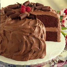 #Chocolate Mousse #Cake from Pillsbury® Baking