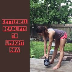 #kettlebell deadlift and row circuit from Body Compass Discovery