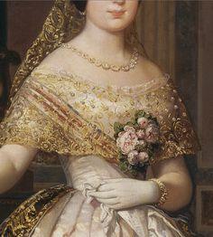 """Federico de Madrazo y Kuntz, """"Isabel II, reina de España"""", 1848"""