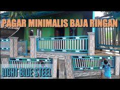 9 Pagar Dari Baja Ringan Ideas House Gate Design Roof Trusses Bikins