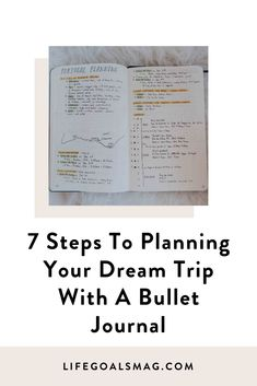 Here's how you can use the bullet journaling method to add a little bit of analog mindfulness and creativity to the process of planning your next vacation.