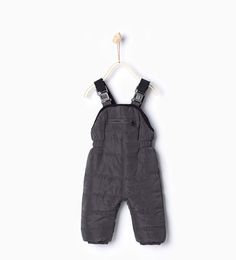ZARA - KIDS - Quilted dungarees