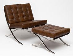 Fotel BA1, inspirowany Barcelona, D2. wwwdkwadrat.pl