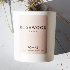 Scented candle by Sómas - handcrafted in ireland