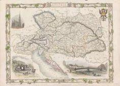 #Austria ([1851]) #map
