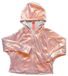 CHaLK NYC - Rose Gold Liquid Lame Zip Hoodie - Clothes for kids that moms want too Ss15 Trends, Blush And Gold, Rose Gold, Kids Fashion, Autumn Fashion, Very Beautiful Woman, Hooded Dress, Hey Girl, Zip Hoodie