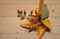 Autumn foliage for your table. | Smitten on Paper