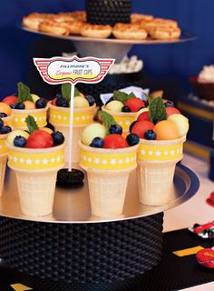 } Disney Cars Party Food Ideas // Hostess with the Mostess® Hot Wheels Party, Hot Wheels Birthday, Race Car Birthday, Race Car Party, 3rd Birthday, Birthday Ideas, Fruit Birthday, Planes Party, Disney Cars Party