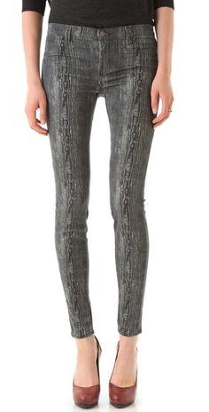 30% OFF J Brand Powerstretch Print Legging Jeans