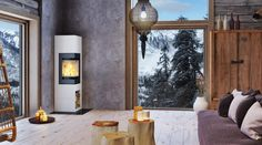 5 Reasons why you should invest in a Wood-burning Stove Minimalist Bathroom, Modern Minimalist, Wood Burning Logs, Stove Board, Freestanding Fireplace, Freestanding Stoves, Pellet Stove, Stove Fireplace, Log Burner