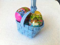 DIY Easter : DIY Weave An Easter Egg Basket