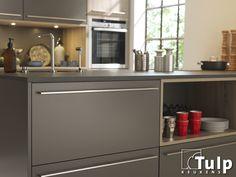 Moderne Tulp Keuken - grijs front
