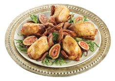Roasted Quail Stuffed with Figs from #YummyMarket Rosh Hashanah Special