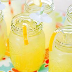 There's nothing like a glass of icy-cold lemonade on a hot summer day. Fresh mix-ins -- fruits, juices, herbs, and spices -- make these lemonade recipes even better.