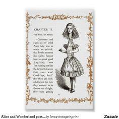 Alice and Wonderland poster