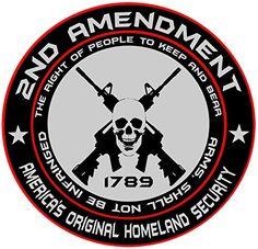 2 ROUND 1789 2ND AMENDMENT ALUMINUM EMBLEMS BADGES RARE PAIR