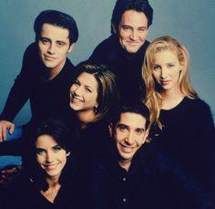 Meet the cast of friends...