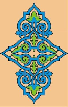 Medieval Russian pattern. #medieval #Russian #patterns