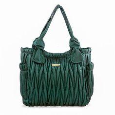 Timi Leslie Marie Antoinette Diaper Bag In Emerald Tote Bags Best