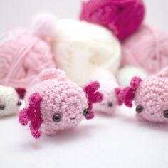 Amigurumi axolotl pattern | Supply | Patterns | Kollabora