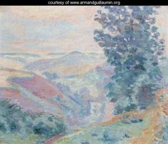 Le Puy Bariou - Armand Guillaumin - www.armandguillaumin.org