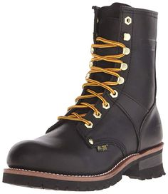 6b231548d727 AdTec Mens 9 Inch Logger Boot Black M US    More info could be found at the  image url. (This is an affiliate link) 0