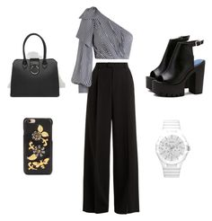 """""""Sin título #50"""" by luli-novasio on Polyvore featuring moda, RED Valentino, Zimmermann, GUESS, ASOS y Dolce&Gabbana"""