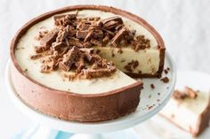 No Bake Tim Tam Cheesecake