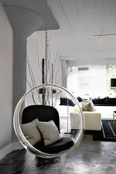 one day i will own a bubble chair