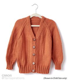 FREE Pattern - Top Down Adult Knit V-Neck Cardigan